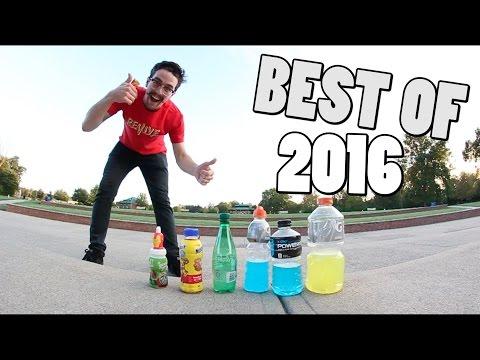 BEST BOTTLE FLIPS 2016!