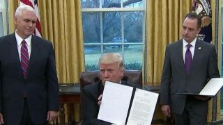 President Trump fulfills campaign promise and kills the TPP