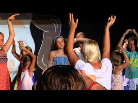 "Holiday Garden Resort Turkey Antalya Okurcalar - Animation ""Mini-disco"" сентябрь, 2013 год"