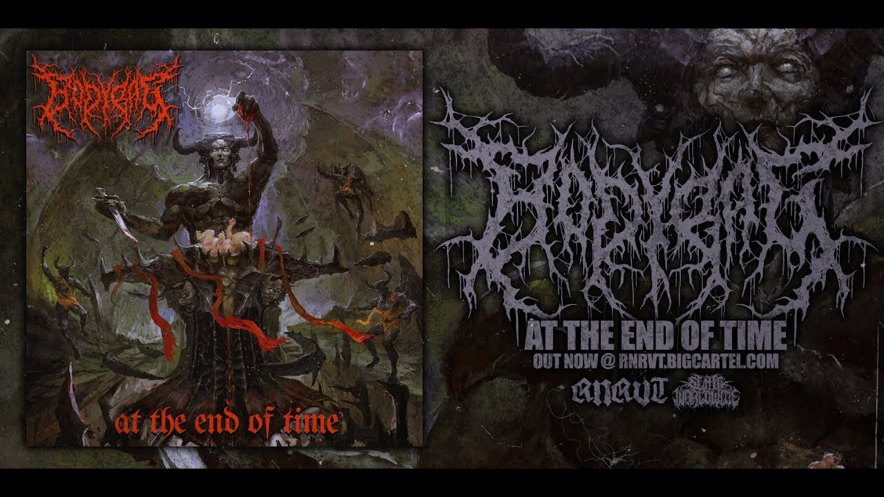 BODYBAG - AT THE END OF TIME [OFFICIAL ALBUM STREAM] (2017) SW EXCLUSIVE