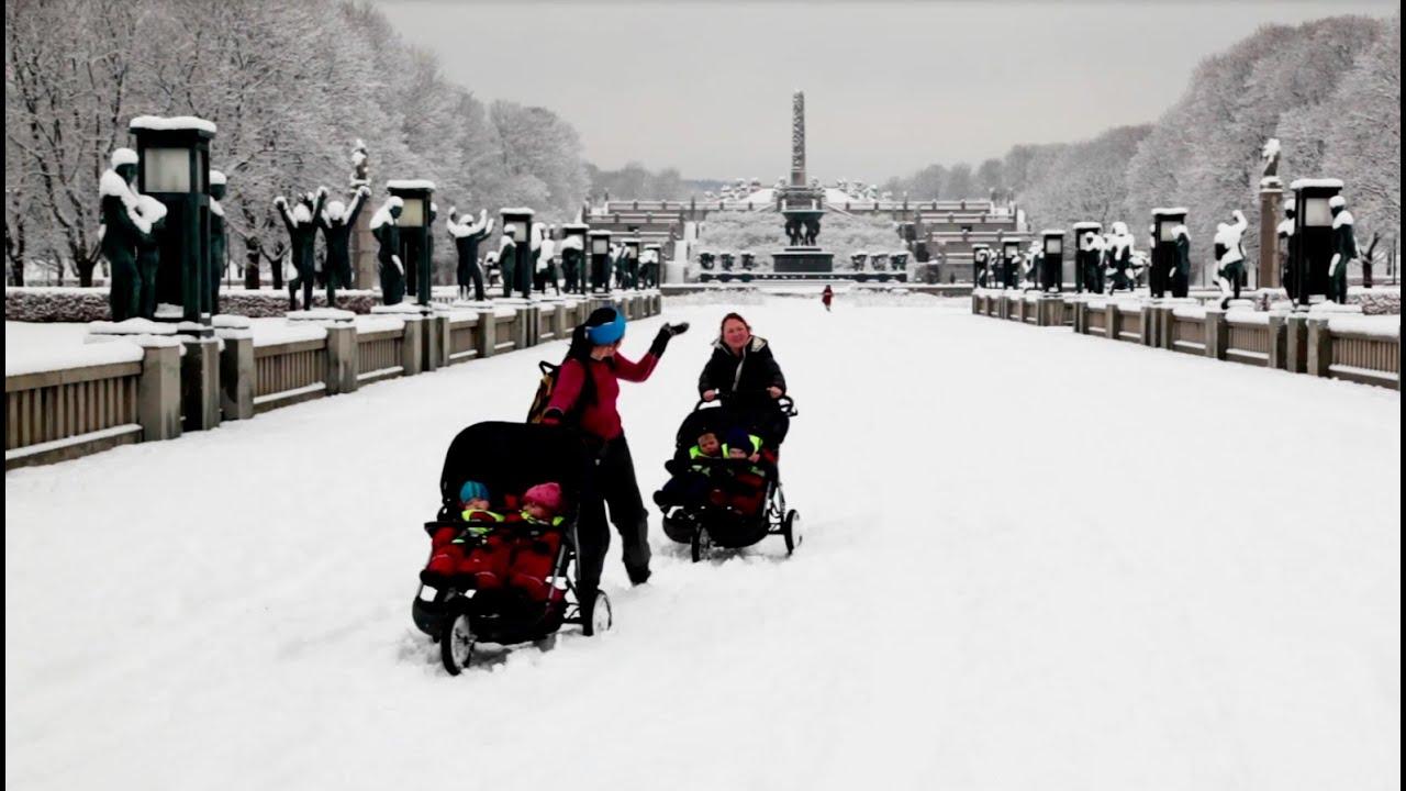 Winter in Oslo - YouTube