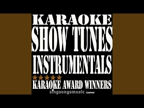 Another Opening Another Show (In the Style of Kiss Me Kate) (Karaoke Instrumental Version)