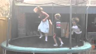 Mom Peeing on the tramp