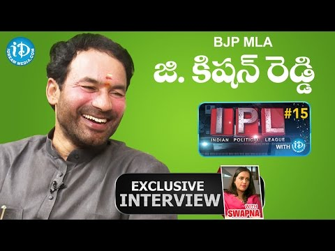 BJP MLA Kishan Reddy Exclusive Interview || Indian Political League (IPL) With iDream #32