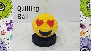 Come fare una sfera - How to make a quilling ball - Quilling tutorial