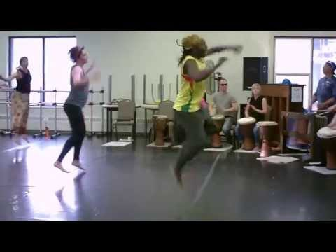 Mohamed Tounkara West African Dance & Drum Workshop at Decidedly Jazz Danceworks