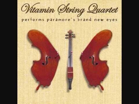 Vitamin String Quartet - Paramore's Brick by Boring Brick