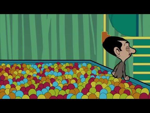 Mr Bean Animated Series - Ball Pool