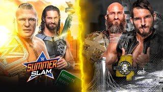 PREDICCIONES SUMMERSLAM 2018 & NXT TAKEOVER BROOKLYN IV