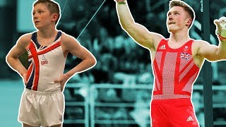 Comparing my Gymnastics to 12 YEARS OLD NILE WILSON! {Cute}