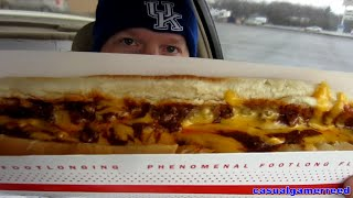 Reed Reviews Sonic Foot Long Chili Cheese Coney