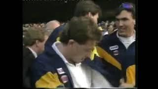 West Coast Eagles vs Geelong Cats 1992 AFL Grand Final 4 Minutes To Go