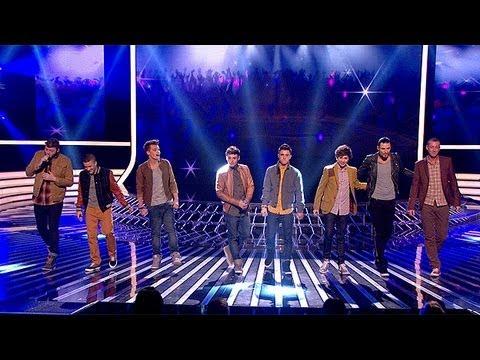The Finalists sing Coldplays Viva La Vida   Week 8  The X Factor UK 2012