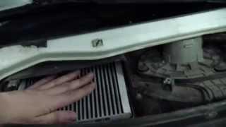 видео Замена салонного фильтра на Приоре