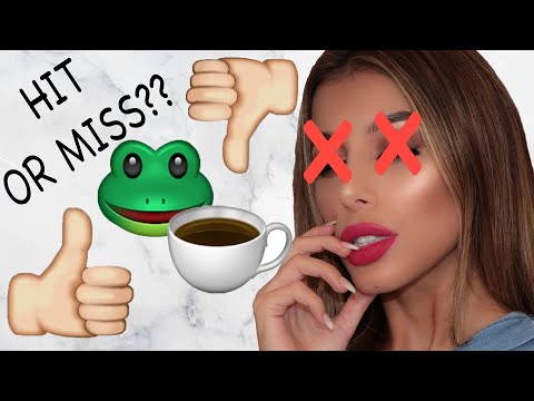 TESTING CHARLOTTE CROSBY'S MAKEUP LINE | HIT OR MISS?
