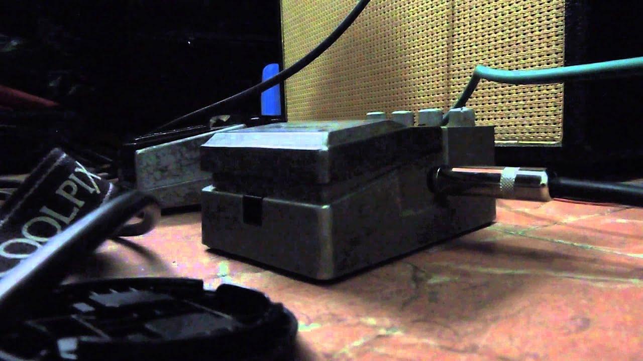 chorus flanger ibanez demo youtube
