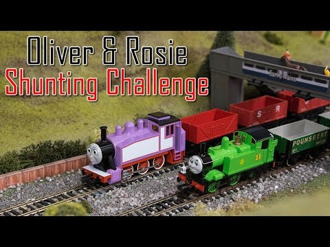 Oliver And Rosie's Shunting Challenge