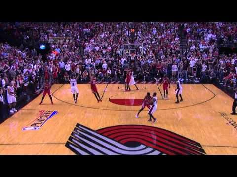 Damian Lillard Amazing Clutch Shot | May 2, 2014 | NBA Playoffs 2014
