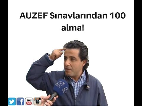 AUZEF Sınavlarından 100 alma!