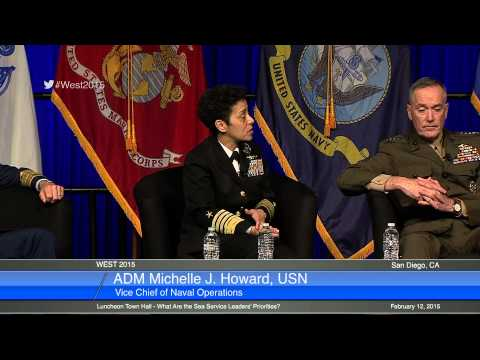 WEST 2015 Luncheon Town Hall -  What Are the Sea Service Leaders' Priorities?