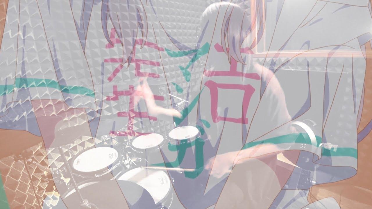 【エロマンガ先生】TrySail  - adrenaline!!!を叩いてみた / Eromanga-sensei Ending full Drum Cover
