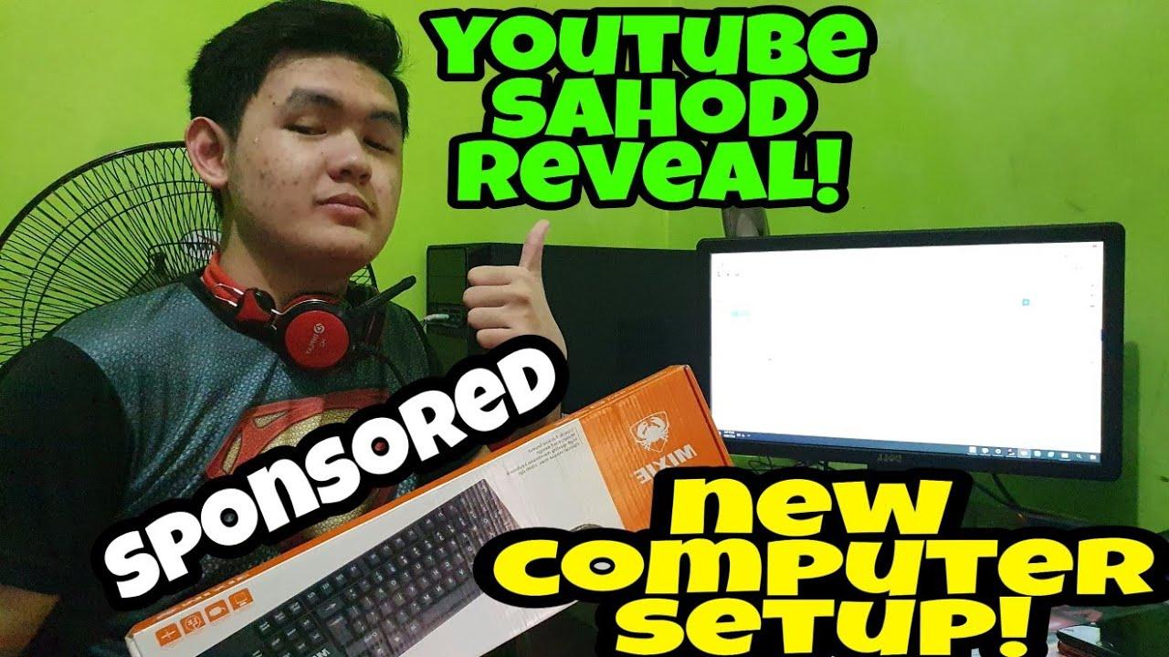 Brandnew Comp Setup! + YouTube REVENUE Reveal! Sponsored by Shopee! Salamat, Shopee!