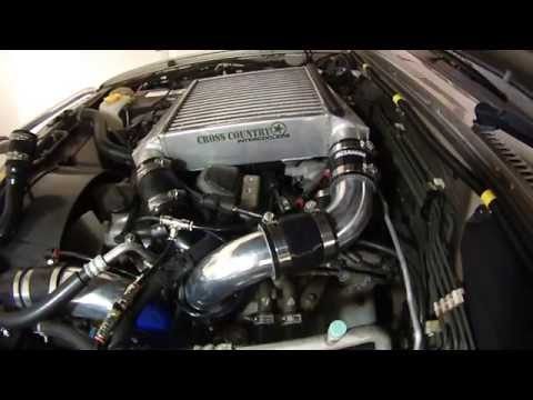 Nissan 3L ZD30, turbo outlet to Intercooler modification