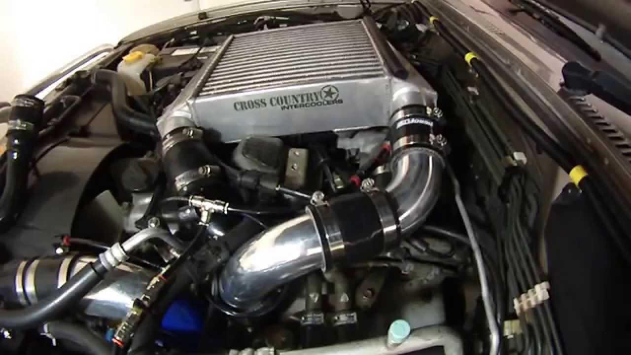 nissan 3l zd30  turbo outlet to intercooler modification