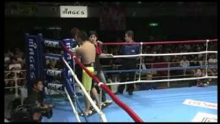 K-1 World MAX 2011 -70kg JAPAN GP QF#1 Albert Kraus(クラウス) vs Yuji Nashiro(城裕司) Part 1