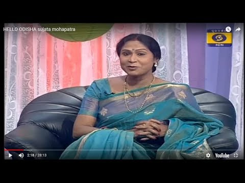 Sujata Mohapatra Odissi dancer in Hello Odisha