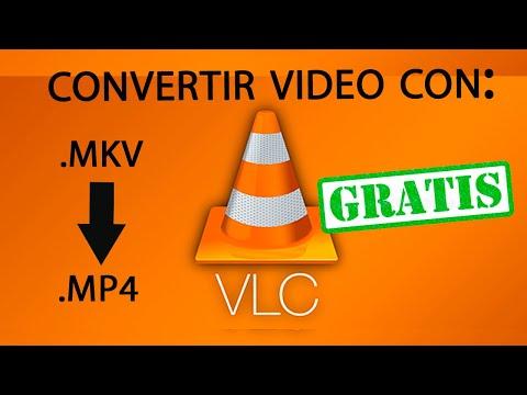 Convertir video de MKV a MP4 con VLC (GRATIS Y SENCILLO)