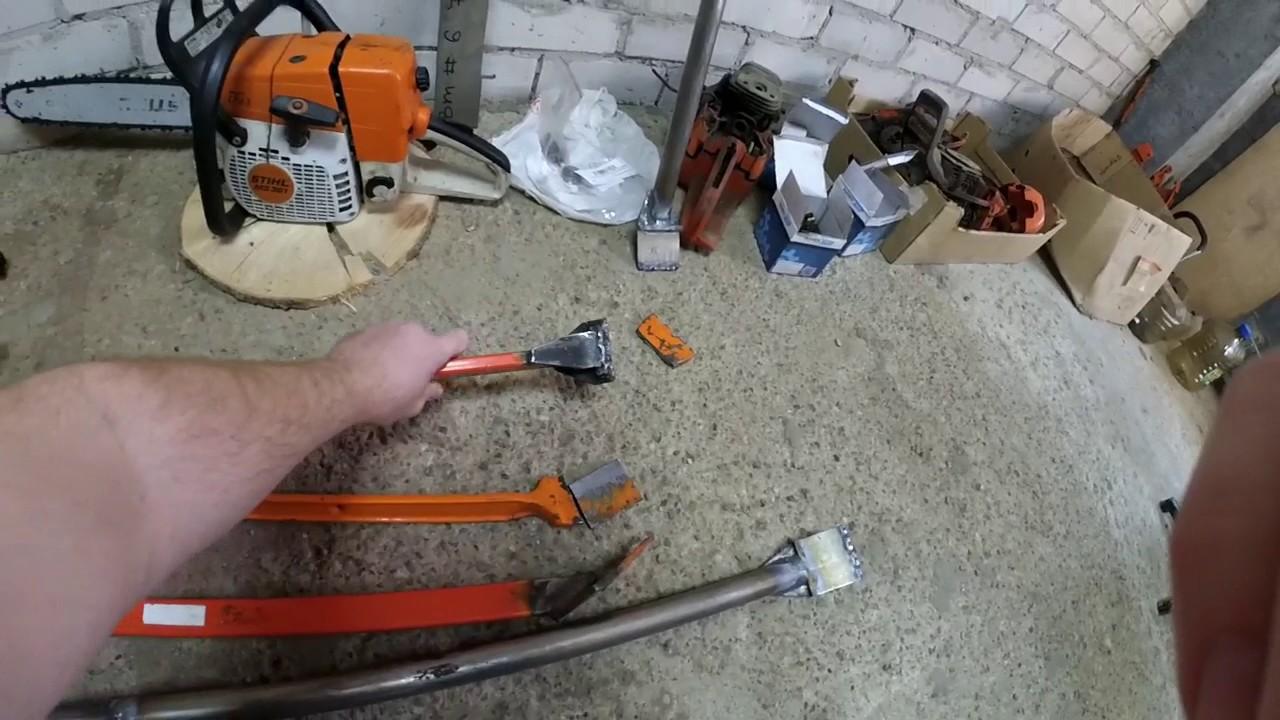 Валочная лопатка своими руками