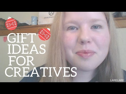 Christmas Gift Ideas For Creative People | Gifts For Creatives || LareLare
