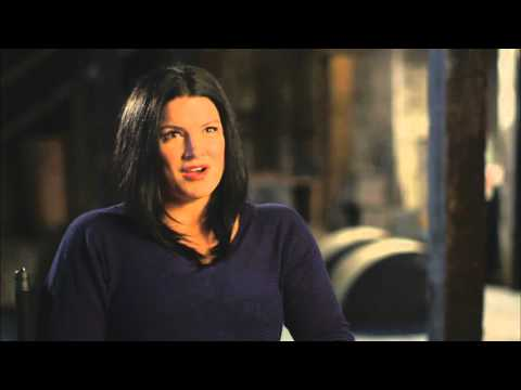 """Deadpool: Gina Carano """"Angel Dust"""" Behind the Scenes Movie Interview"""
