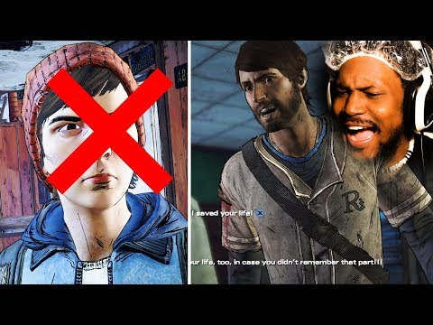 GABE IS LY THE WORST CHARACTER FOR THIS  The Walking Dead: Season 3 Episode 4