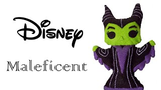 Disney: How To Make Maleficent Plushie Tutorial