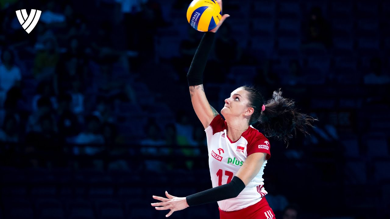Best Actions of Poland's Most Impressive Spiker! 💯 | Malwina Smarzek | Highlights Volleyball