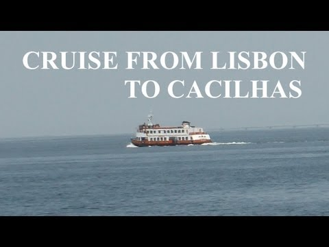 Tagus River Cruise from Lisbon to Cacilhas. Portugal.