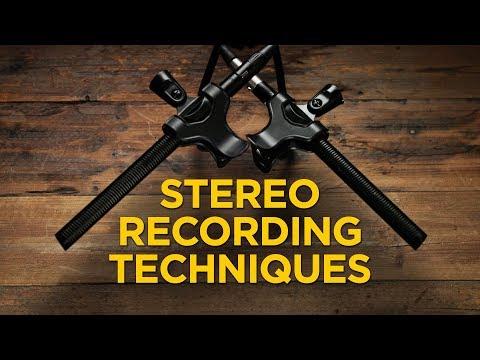 3 Stereo Recording Techniques