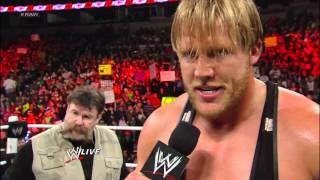 Zack Ryder vs. Jack Swagger: Raw, Feb. 11, 2013