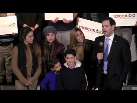 Marco Rubio Speaks in Exeter, NH