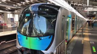 【4K】西武40000系「S-TRAIN試運転」綱島駅発車