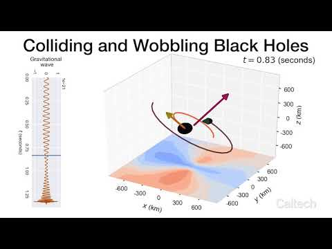 When Black Holes Collide | www caltech edu