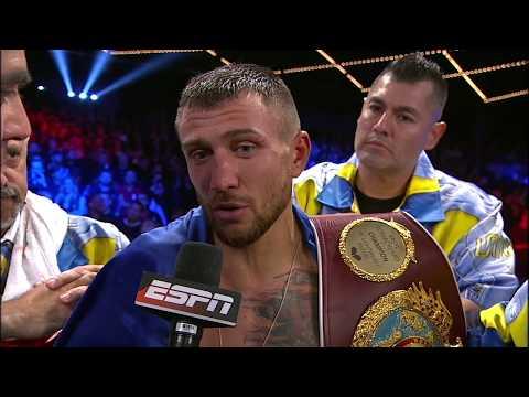 Vasyl Lomachenko defeats Guillermo Rigondeaux by TKO | ESPN