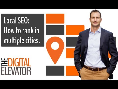 Local SEO: How to Rank in Multiple Cities (with one location)