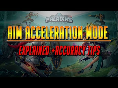 how to change the sensitivity on paladins