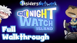 ★ Poptropica: Night Watch Island Full Walkthrough ★
