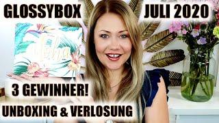 GLOSSYBOX JULI 2020 | UNBOXING & VERLOSUNG