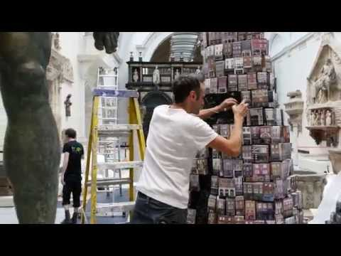 The Tower of Babel: Installation Time-lapse