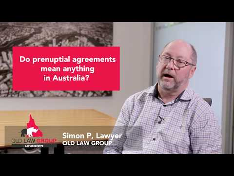 Do Prenuptial Agreements Mean Anything In Australia?